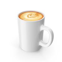 Latte In Mug PNG & PSD Images