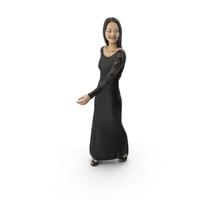 Woman Walking Dress PNG & PSD Images