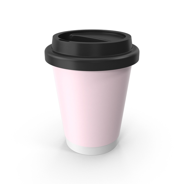 Pink Coffee Cup PNG & PSD Images