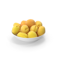 Bowl Of Apricots PNG & PSD Images