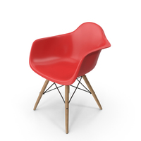 Molded Plastic Eiffel Chair PNG & PSD Images
