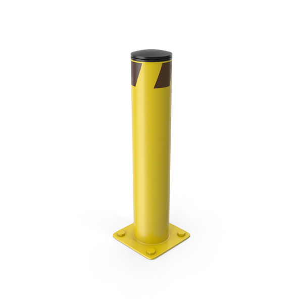 Safety Bollard PNG & PSD Images