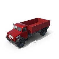 Vintage Truck Unloaded PNG & PSD Images