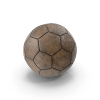 Old Leather Soccer Ball PNG & PSD Images