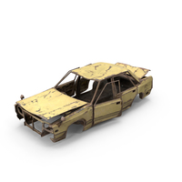Abandoned Car PNG & PSD Images