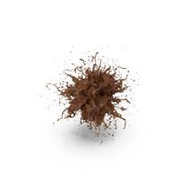 Chocolate Splash PNG & PSD Images