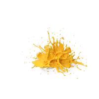 Yellow Splash PNG & PSD Images