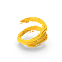 Yellow Vortex PNG & PSD Images