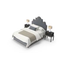 Hooker Traditional Bedroom Set PNG & PSD Images