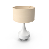 Contemporary Table Lamp PNG & PSD Images
