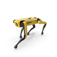 Boston Dynamics Spot Robot Walking PNG & PSD Images