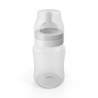 Empty Baby Bottle PNG & PSD Images
