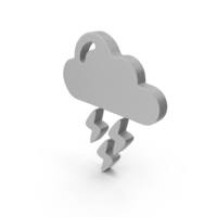 Thunderstorm Weather Symbol PNG & PSD Images