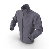 Hi Tech Male Winter Jacket PNG & PSD Images