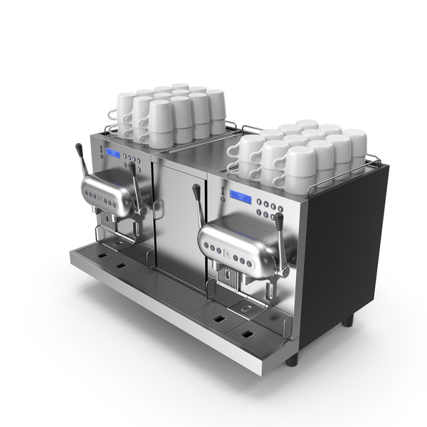 Professional Coffee Machine PNG & PSD Images