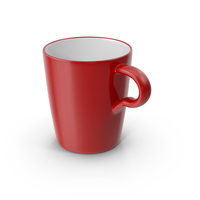 Lungo Cup Red PNG & PSD Images