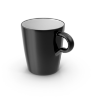 Lungo Coffee Cup Black PNG & PSD Images