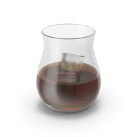 Canadian Whisky Glass PNG & PSD Images