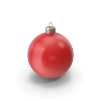 Christmas Ornament Red PNG & PSD Images
