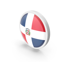 Dominican Republic Flag PNG & PSD Images
