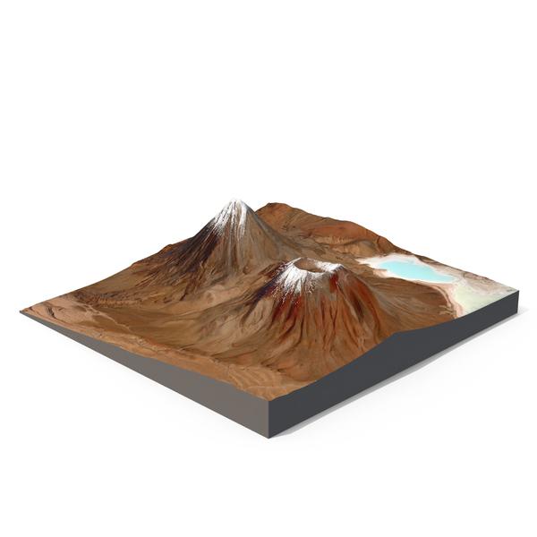 Licancabur Volcano PNG & PSD Images