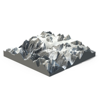 Snow Mountains PNG & PSD Images