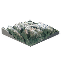 Snowy Mountains PNG & PSD Images
