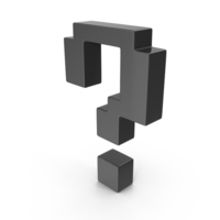 Question Mark Black PNG & PSD Images