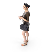 Business Woman with Purse PNG & PSD Images