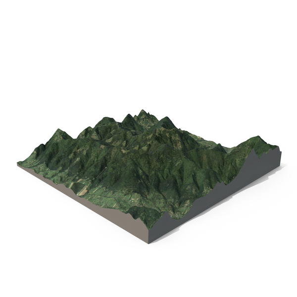 Green Mountains PNG & PSD Images
