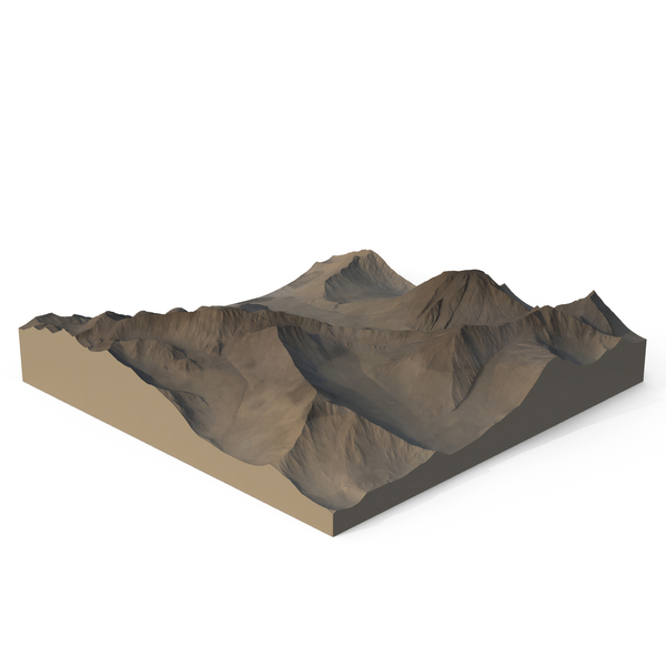 Arid Mountains PNG & PSD Images