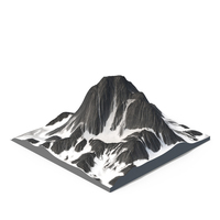 Snow Mountain PNG & PSD Images