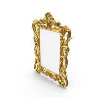Baroque Picture Mirror Frame PNG & PSD Images