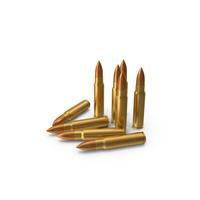 7.62 × 39 mm Cartridges PNG & PSD Images