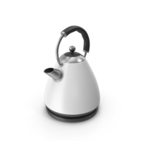 Tea Kettle White PNG & PSD Images