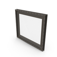 Dirty Black Picture Frame PNG & PSD Images