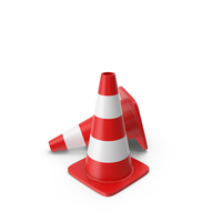 Traffic Cones PNG & PSD Images