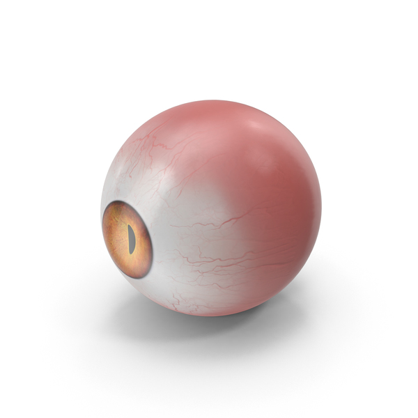 Realistic Creature Eye Red PNG & PSD Images