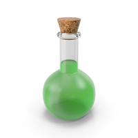 Flask Green PNG & PSD Images