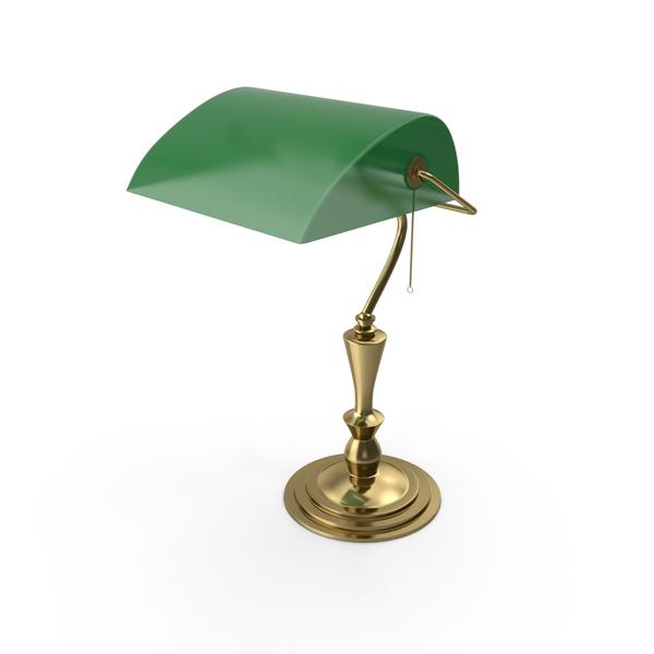 Banker Lamp PNG & PSD Images