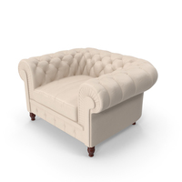 Chesterfield Armchair PNG & PSD Images