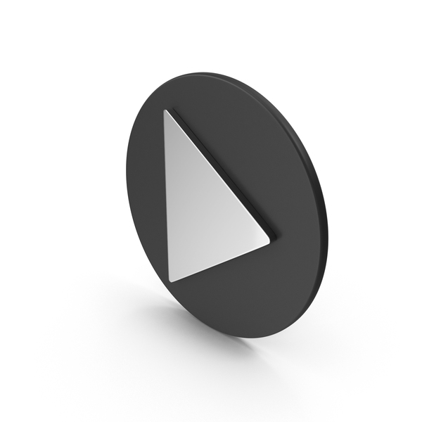 Chrome Play Button PNG & PSD Images