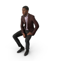 Spring Business Man Sitting PNG & PSD Images