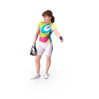 Female Cyclist PNG & PSD Images