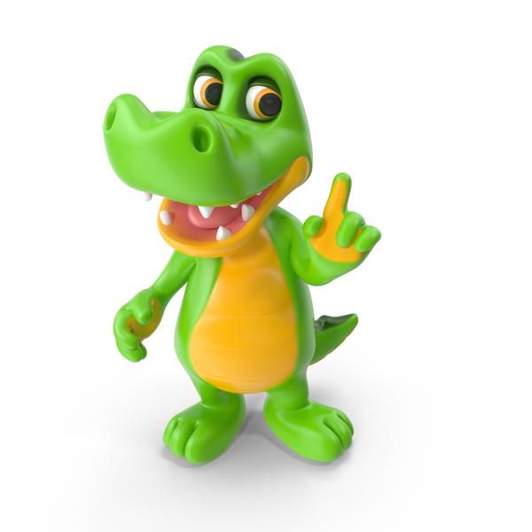 Cartoon Crocodile PNG & PSD Images