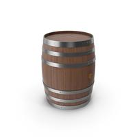 Wooden Barrel Dark PNG & PSD Images