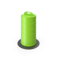 Traffic Drum Green PNG & PSD Images