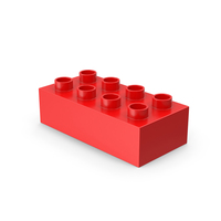 2x4 Toy Brick PNG & PSD Images
