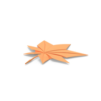 Origami Maple Leaf PNG & PSD Images