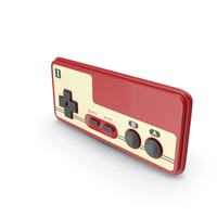 Nintendo Famicom Joystick PNG & PSD Images